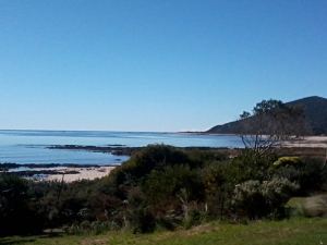 beach horizon Tasmania