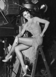 This is what I imagined I'd do for a living as a child. Sit around between takes looking glamourous :)