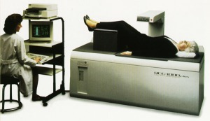 The UTas DEXA is older than this model and not in quite as good condition. Notice the natty computer it runs off.