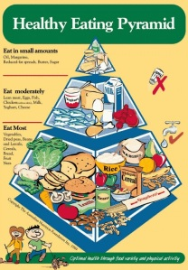 old food pyramid